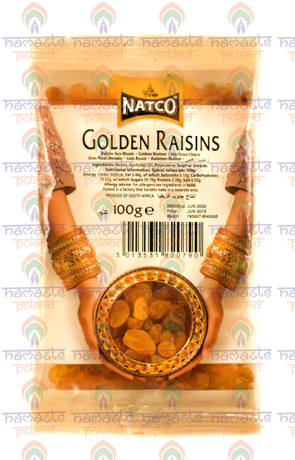 NATCO Golden Raisins 100g