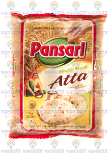 Pansari Atta (Wholemeal Wheat Flour) 1kg