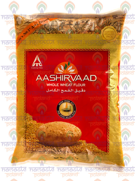 Aashirvaad Whole Wheat Flour 2kg