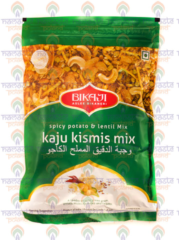 Bikaji Kaju Kismis Mix (Spicy Potato & Lentil Mix) 200g