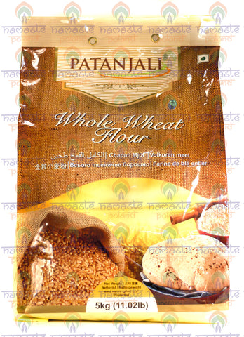 Patanjali Whole Wheat Flour (Atta) 5kg