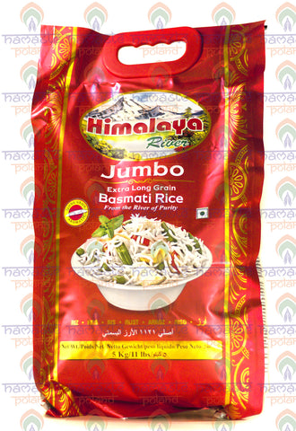 Himalaya River Jumbo Extra Long Grain Basmati Rice 5kg