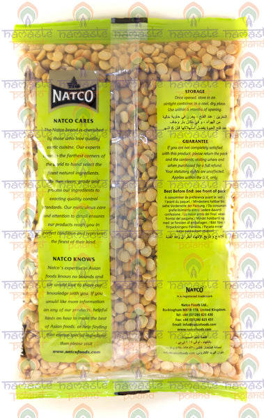 Natco Yellow Split Peas 500g