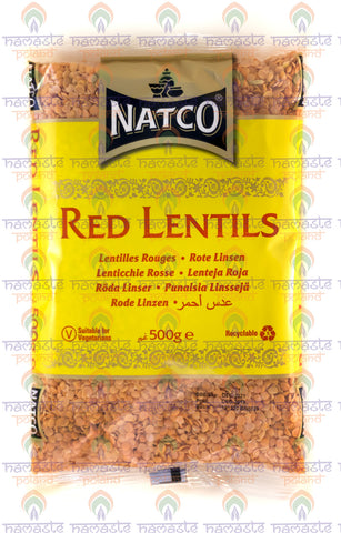 Natco Red Lentils 500g