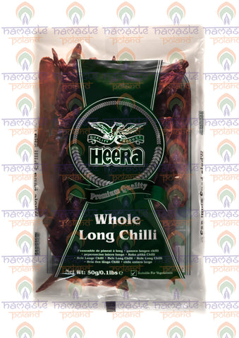 Heera Whole Long Chilli 50g
