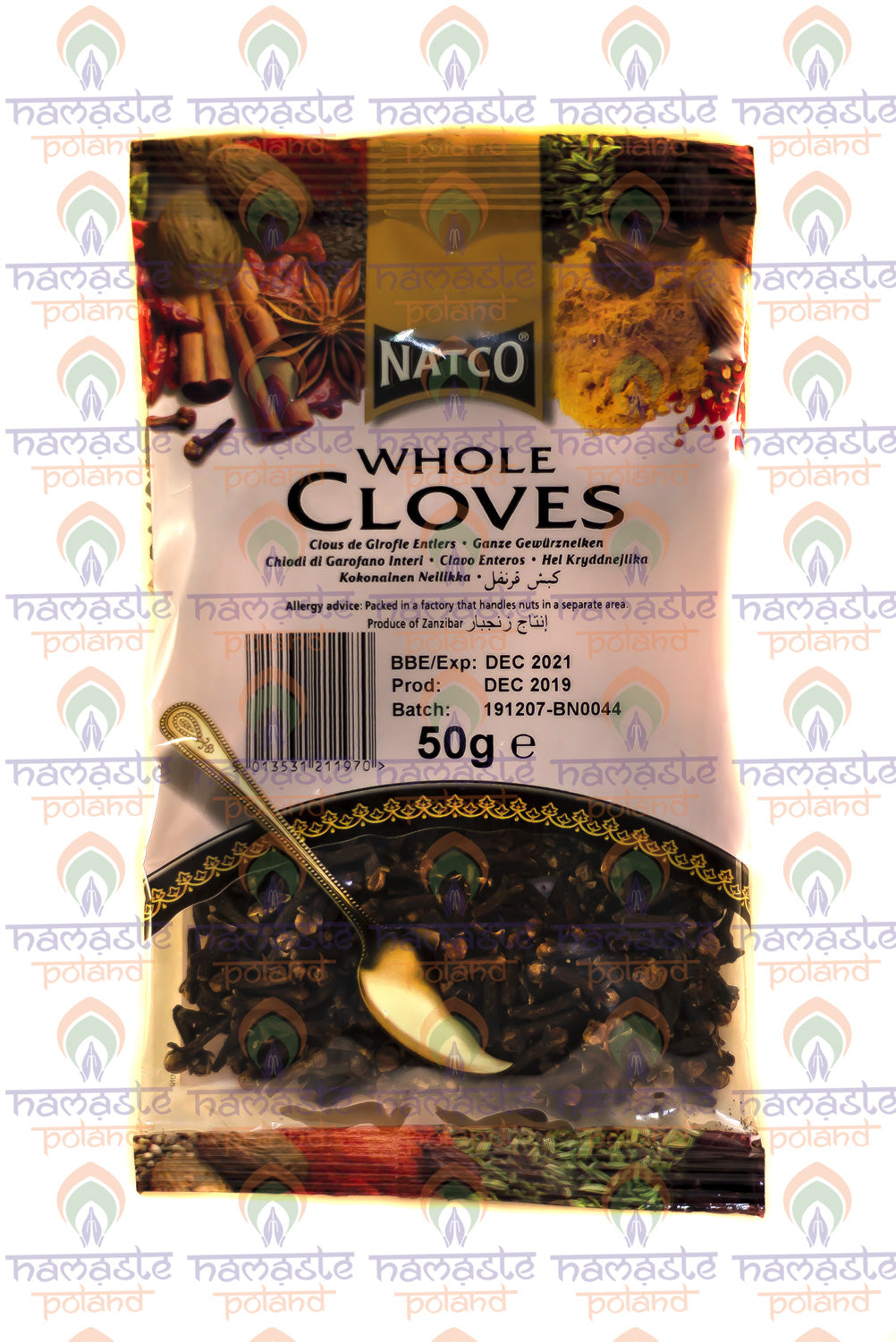 Natco Whole Cloves 50g