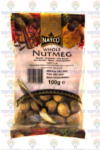 Natco Whole Nutmeg 100 g