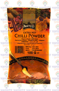Natco Extra Hot Chili Powder 100g