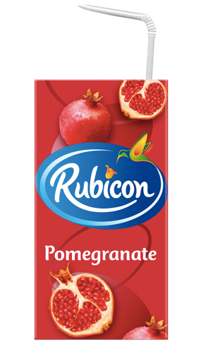 Pomegranate Juice Drink Rubicon