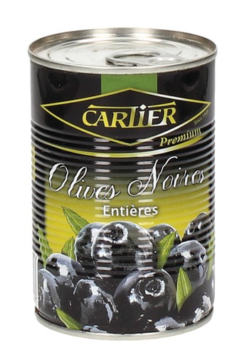 Whole Black Olives with Pit