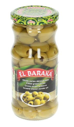 Pitless Green Olives