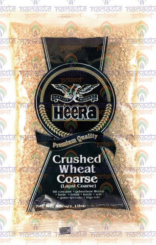 Heera Crushed Wheat Coarse 500g