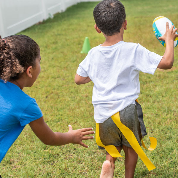 Flag Football Kit + Live Virtual Sports Skills Classes