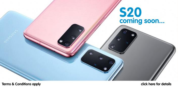 get the galaxy S10 series at dtr now