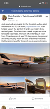 Load image into Gallery viewer, Cessna 310 Plane Tint