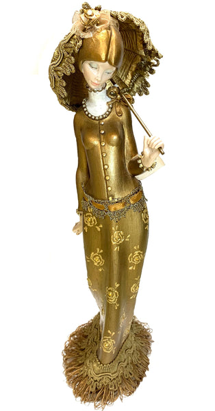 Decoration Gold Lady 105750