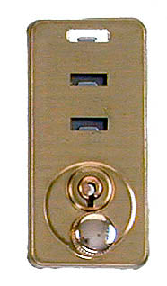 LCK 130/1 3-Slot Key Lock