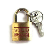 PDL 3/4 Padlock 20MM Keyed- Solid Brass