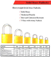 Load image into Gallery viewer, Short Shackle 25mm Padlock