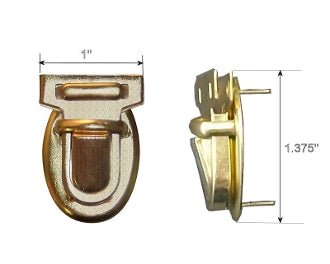 Handbag Tuck lock 407P