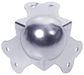 Steel knuckled ball corners