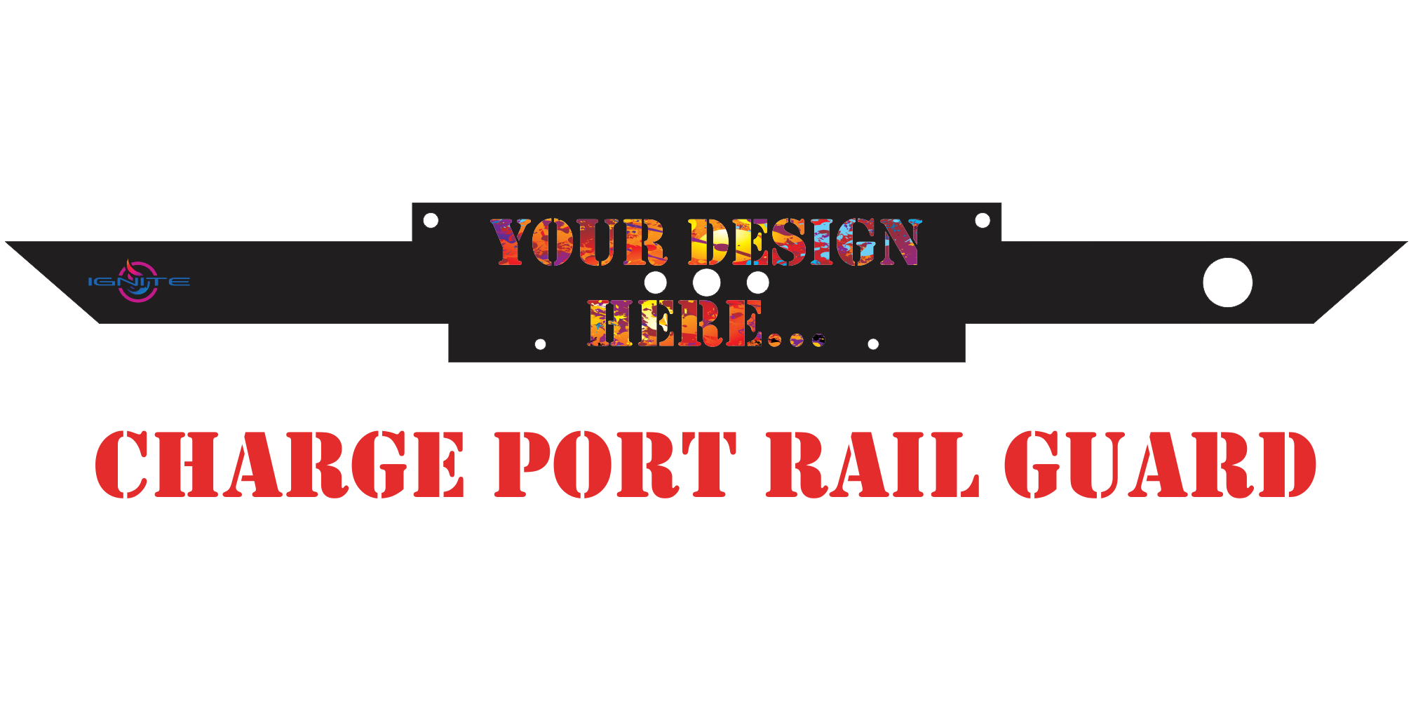 **Create Your Own Design** HD Rail Wraps