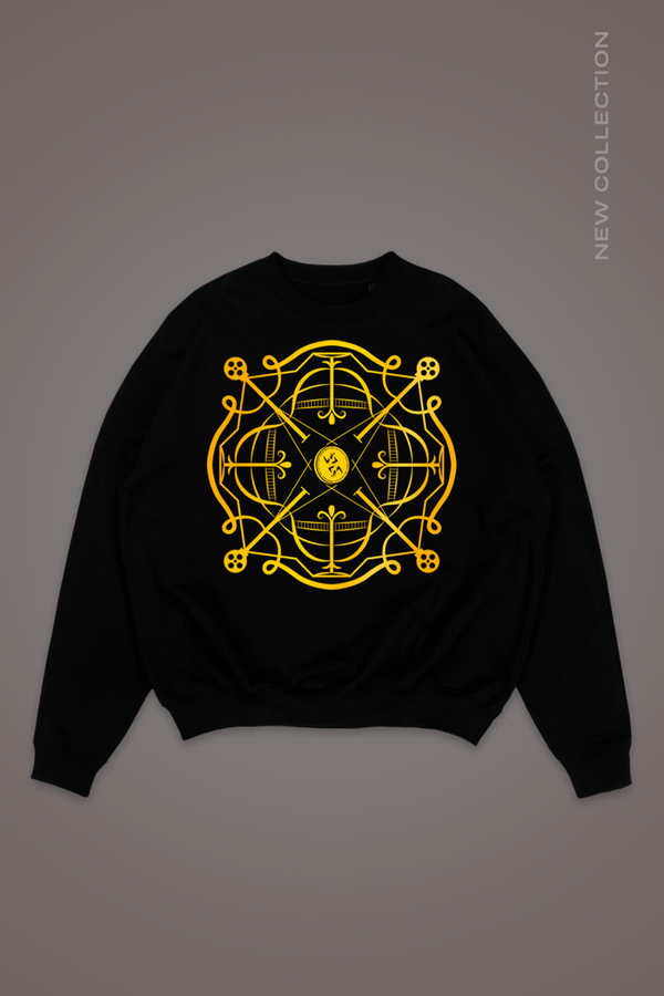 Black Cairo Sweatshirt