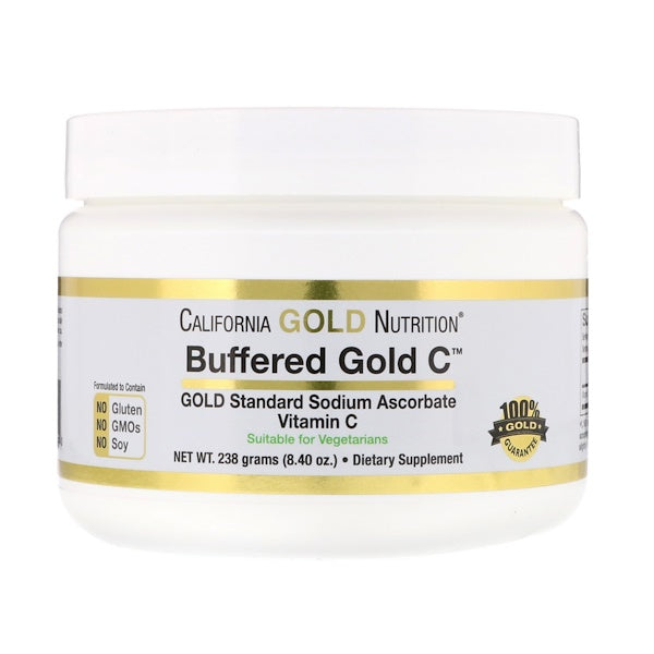 Buffered Vitamin C Powder, 8.4 oz (238g) by California Gold Nutrition