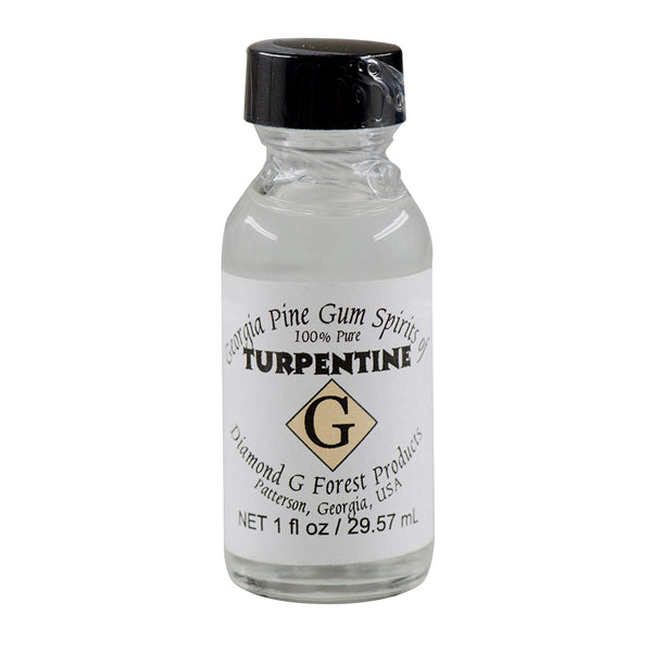 Pure Gum Spirits of Turpentine 1oz. 100% by Diamond G Forest