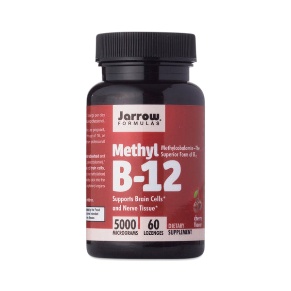 MB12 Lozenge 5000mcg 60 Tablets by Jarrow