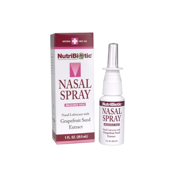 Nasal Spray with Grapefruit Seed Extract 1 fl.oz (29.5 ml) by Nutribiotic