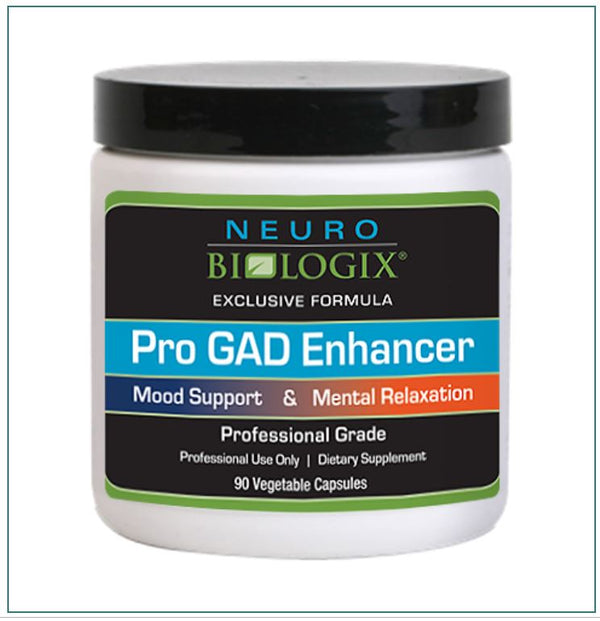 Pro GAD Enhancer (Mood Support) 90 Capsules by Neurobiologix