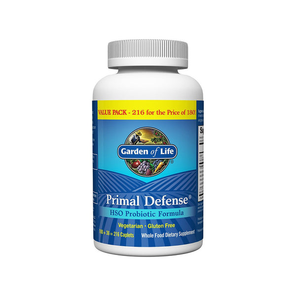 Primal Defense Caplets 216 Caplets by Garden of Life