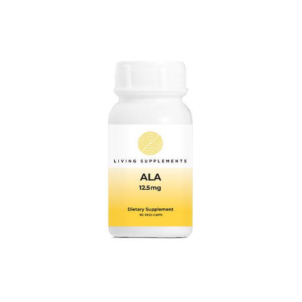 ALA 12.5mg 90 Capsules by Living Network