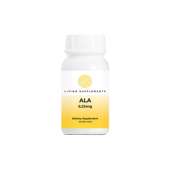 ALA 6.25mg 90 Capsules by Living Network