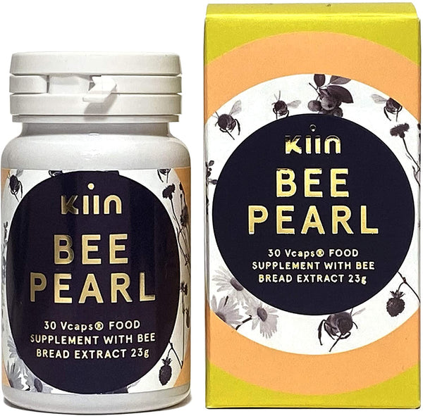 Bee Pearl 30 Vcaps with Bee Bread Extract by Kiin