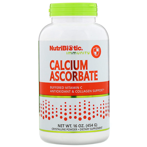 Calcium Ascorbate, Buffered Vitamin C 16oz Powder