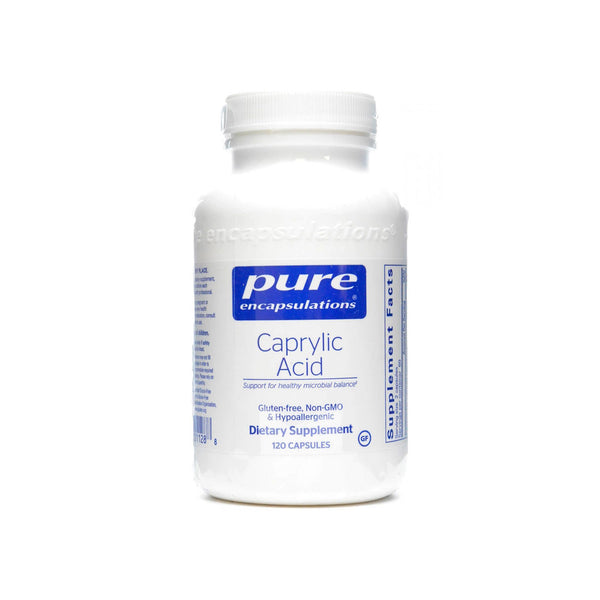Caprylic Acid 400mg 120 Capsules by Pure Encapsulations
