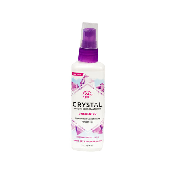 Crystal Body Deodorant Spray 4oz
