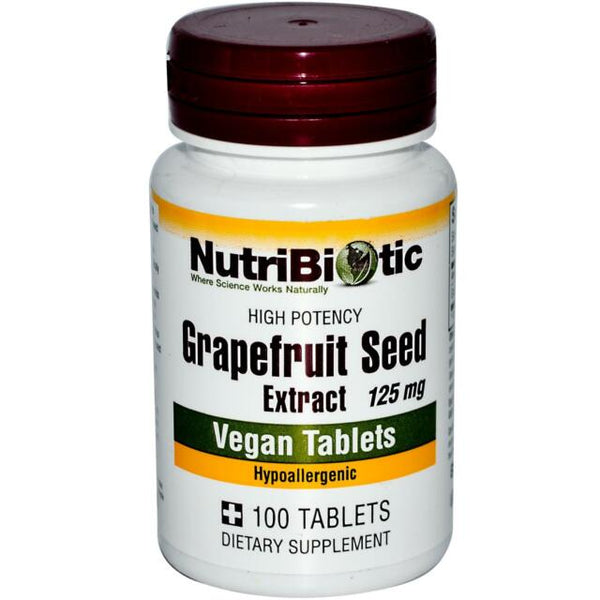 Grapefruit Seed Extract (GSE) 125mg Tablets 100 Tablets