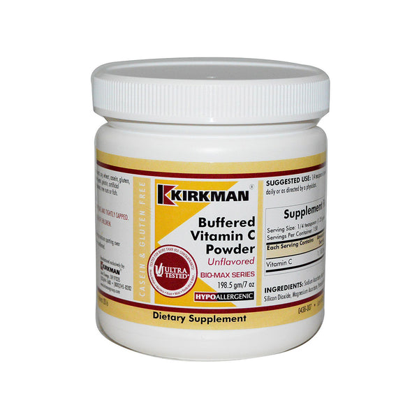 Vitamin C Buffered & Flavoured 7oz Powder by Kirkman
