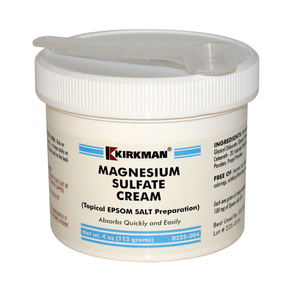Epsom Salts Cream 4oz by Kirkman