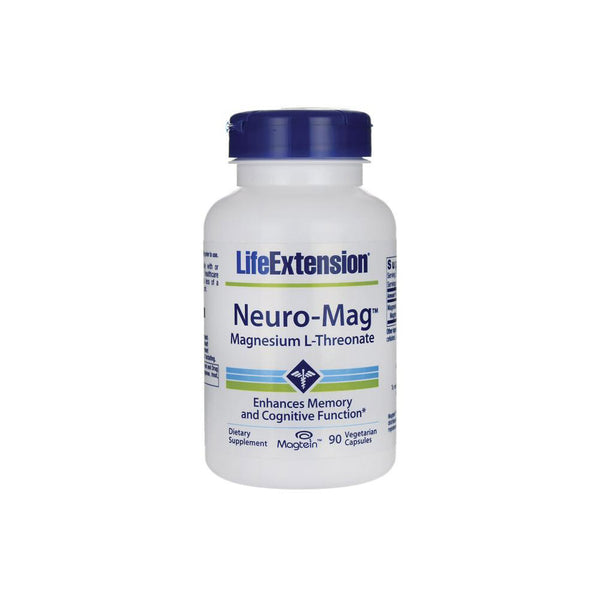 Neuro-Mag (Magnesium L-Threonate) 90 Caps by Life Extension