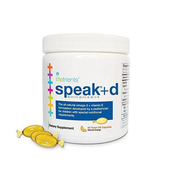 NourishLife Speak+d 60 Twist-Off Capsules by lifetrients