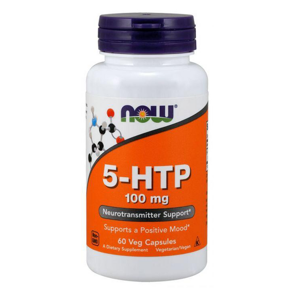 Now 5-HTP, the intermediate metabolite between the amino acid. Supports a positive mood