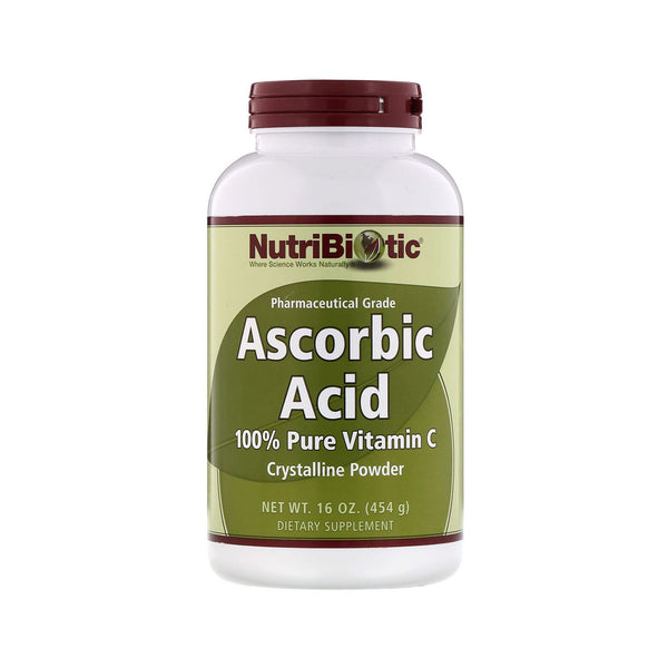 NutriBiotic, Ascorbic Acid Powder 16 oz (454 g)