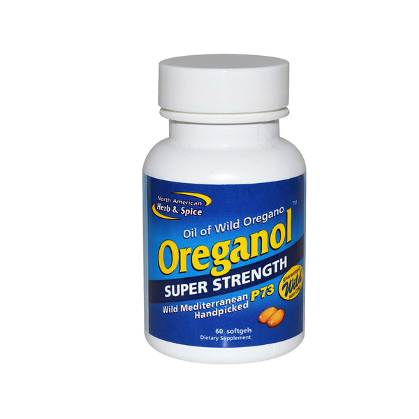 P73 Oreganol SUPER STRENGTH 60 Capsules by North American Herb + Spice