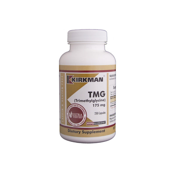 TMG 175mg (with Folinic Acid & MB12) 200 Capsules by Kirkman