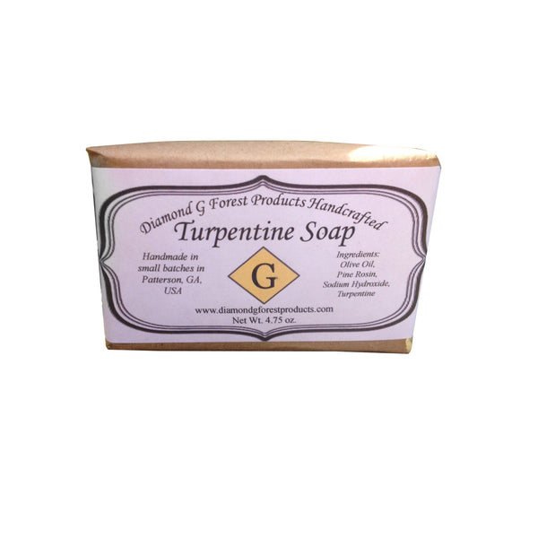 Handcrafted Turpentine Soap (4.5oz approx)