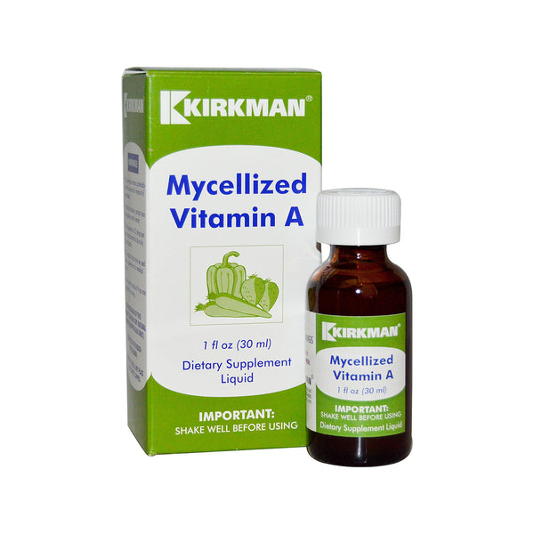 Vitamin A Mycellized Liquid 5 025iu's per drop 30mls by Kirkman